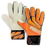 PUMA Ultra Grip 1 RC Guantes De Portero, Unisex Adulto, Shocking Orange White Black, 9.5