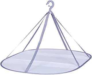 OUNONA 洗濯物干しネット 衣類乾燥ネット 衣類型くずれ防止 通風 乾燥しやすい 単層 折りたたみ式