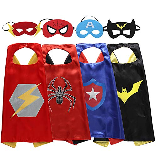 Zaleny Superhero Capes and Masks