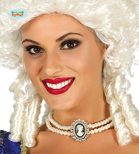 Guirca Perlenkette Cameo Weiß 17379