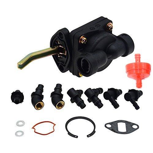 Partman Fuel Pump For Kohler Magnum M18 M20 MV16 MV18 MV20 KT17 KT19 Engine Tractor Craftsman Lawn Mower Replaces 52 559 01-S 52 559 02 52 559 03-S Stens 520-568