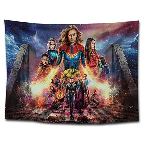 AFQHJ Tapijt, superheld rol, tapijt, slaapkamer, woonkamer, wanddecoratie, superheld tapijt, kleur A, afmeting: 130 cm × 150 cm