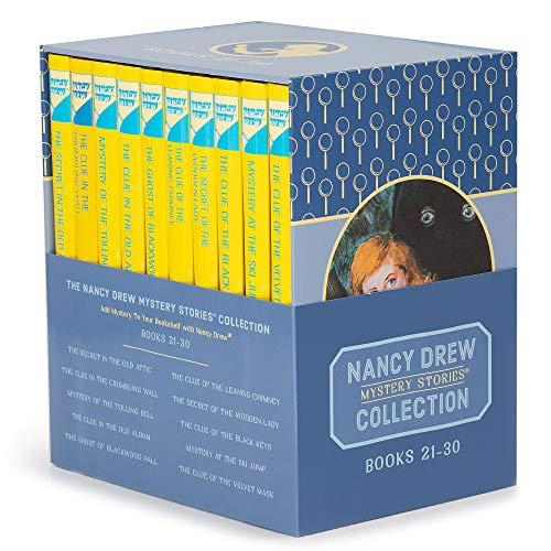 Nancy Drew Books 21-30 The Nancy Drew Mysteries Collection Box Set