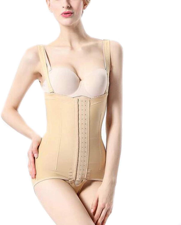 Women's Waist Corset Liposuction Postpartum Corset Waist Trainer Cincher Butt Lifter,Skincolor,M