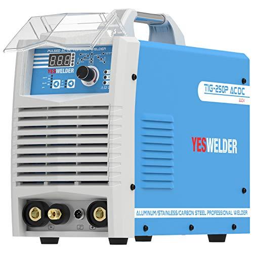 YESWELDER TIG-250P AC DC 250 Amp Pulse Tig AC DC/Stick/Arc TIG Welder 220V TIG Welding Machine
