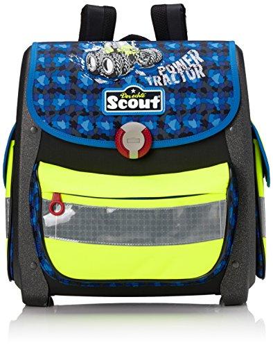 Scout Buddy Schulranzen-Set, Blau/Gelb