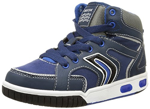 Geox Jungen Gregg A Hohe Sneakers, Blau (c4226), 32 EU