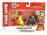 Angry Birds Collectible Mission Flock Pack [Bomb & Chuck] with Bonus Surprise hatchling!