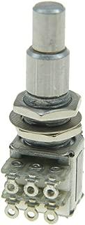 KAISH Guitar Bass Mini Dual Pots Stacked Concentric Potentiometer Pot with Center Detent Korea Made B50K