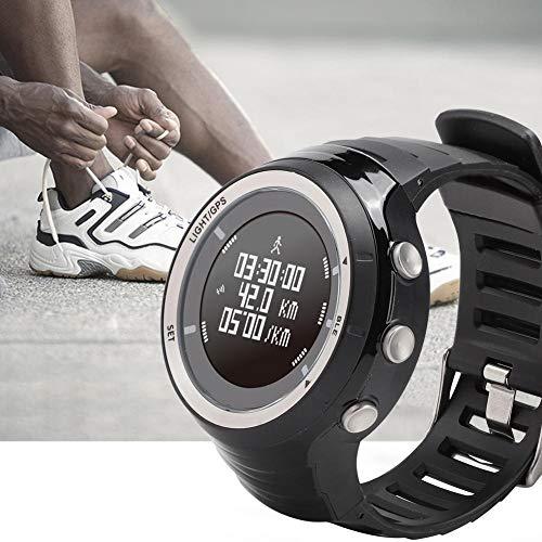 GPS EZON T033 Reloj Inteligente con Bluetooth, rastreador de Actividad, Aptitud práctica para Mujeres, Entrenamiento para Hombres