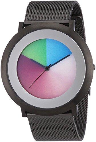 Colour Inspiration Unisex-Armbanduhr Analog Edelstahl beschichtet 2014L005