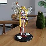 brandless Anime Sailor Moon Figuras de acción PVC Sailor Moon Figura Set Alas Decoración de la Torta...