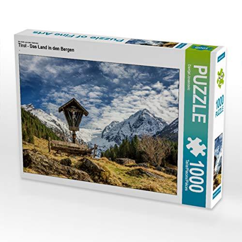 CALVENDO Puzzle Tirol - Das Land in den Bergen 1000 Teile Lege-Größe 64 x 48 cm Foto-Puzzle Bild von Danijel Jovanovic