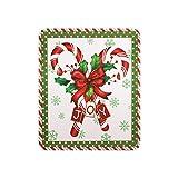 Cocina de Navidad bastón de caramelo lavavajillas imán funda