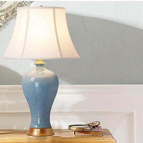 -lampara mesa Lámpara de mesa de cerámica - La mejor serie de lámparas de mesa de cerámica en Amazon Mall (QY18250) - Primera calidad de la clase Lámpara de mesa decorativa