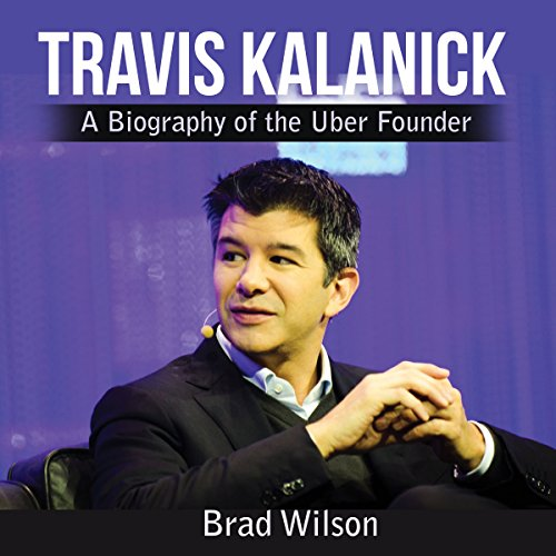 Travis Kalanick audiobook cover art