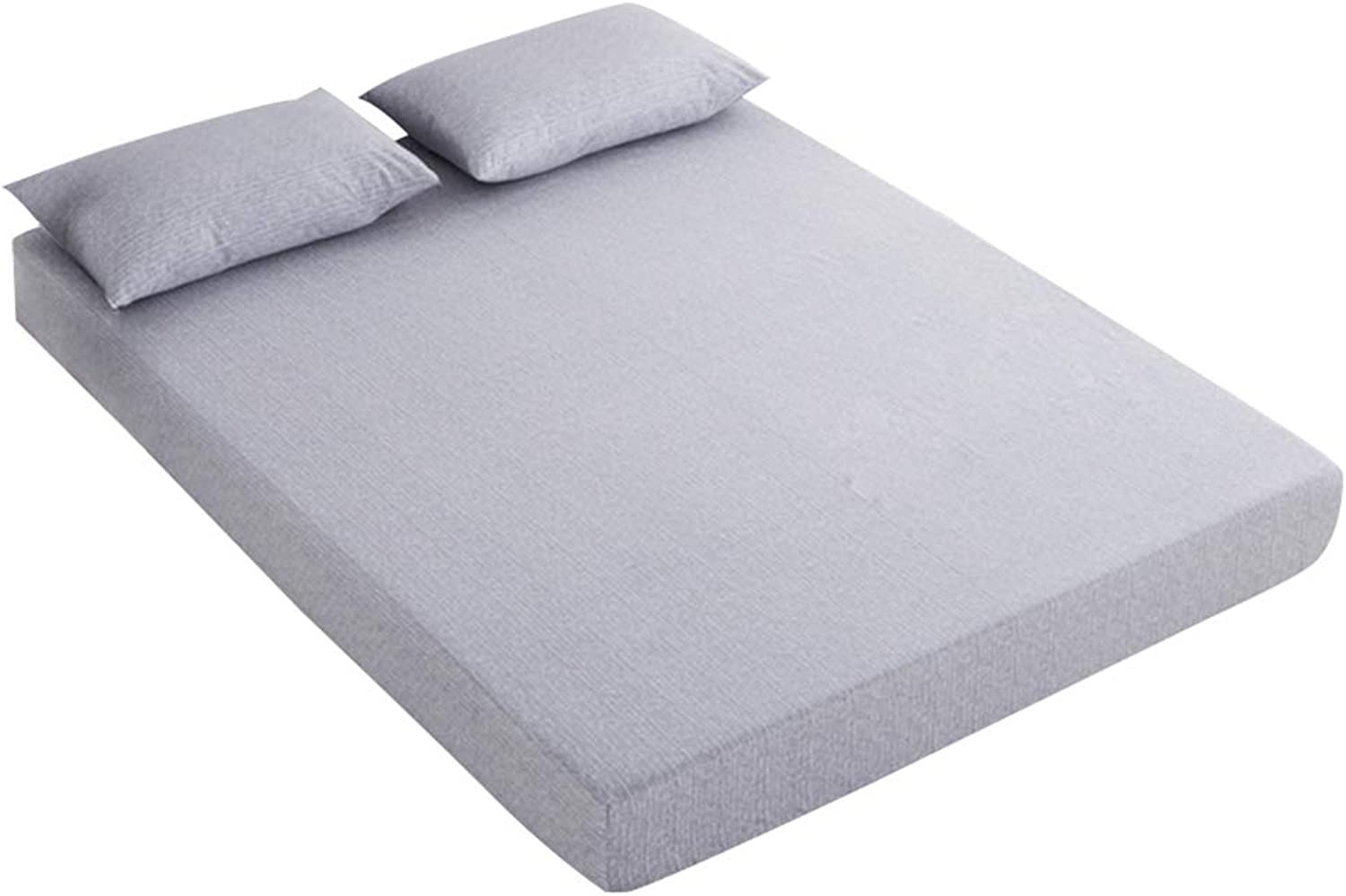 ZHAOHUI Mattress Predector Cotton Non-Slip Breathable Hypoallergenic Hygroscopic Thickened Soft Skin-Friendly, 3 colors, 3 Sizes (color   A, Size   180X200cm)