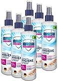 Impresan Hygiene-Spray: Desinfektionsspray für Oberflächen und Textilien - Desinfektions-Pumpspray...