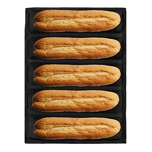 Backen Backformen Brotbackformen Silikon Französisch Bratpfanne, atmungsaktive DIY Brotbackblech Backform für Den Heimgebrauch