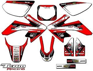 Team Racing Graphics kit compatible with Honda 2004-2012 CRF 50, ANALOG