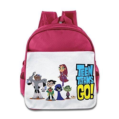 Teen Titans Go Niñas Elegante Mochila Bolso de escuela