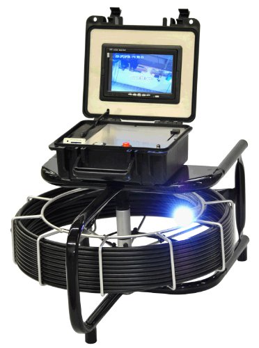 AM200-130 Viztrac Sewer Camera Push Cable Video System with Sonde