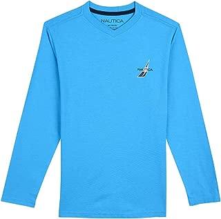 Nautica Baby Toddler Boys' Long Sleeve V-Neck T-Shirt
