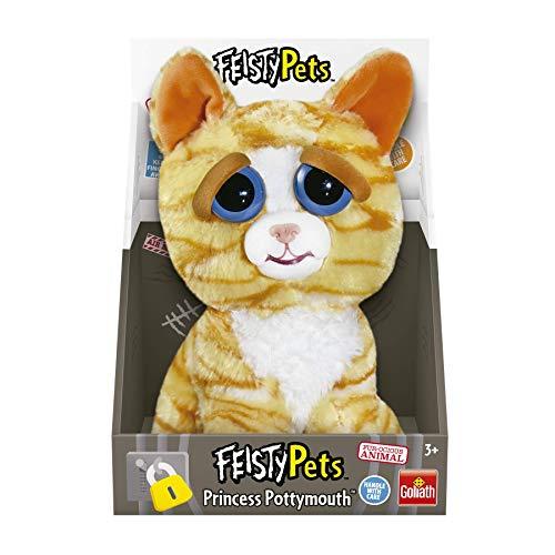 Goliath Toys 32297 Feisty Pets Katze, Hellbraun/gestreift