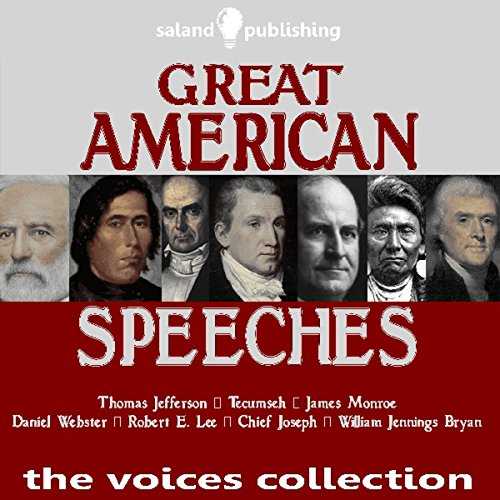 Great American Speeches audiobook cover art