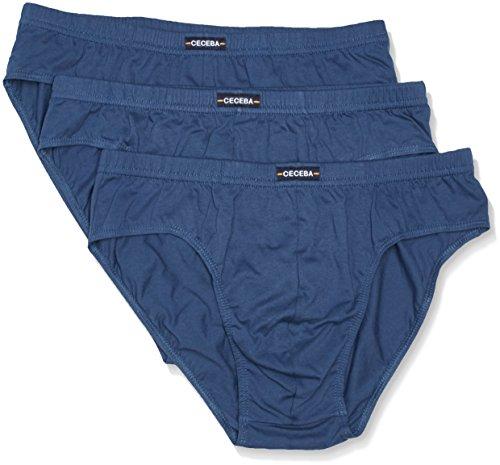 Ceceba Herren Sport 3er Pack Slip, Blau (Midnight Blue 6979), XXXXX-Large (Herstellergröße: 12)