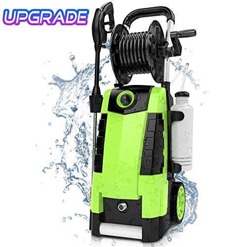 Find Bargain TEANDE 3800PSI Electric Pressure Washer, 2.8GPM High Pressure Power Washer 1800W Machin...