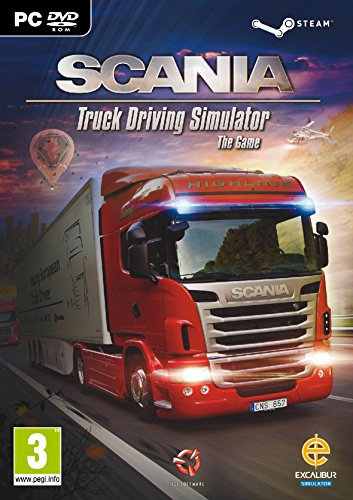 Scania, Truck Driving Simulator PC