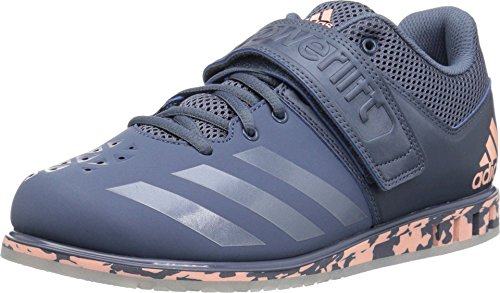 adidas Originals Men's Powerlift.3.1 Cross Trainer, Raw Steel/Raw Steel/Clear Orange, 9.5