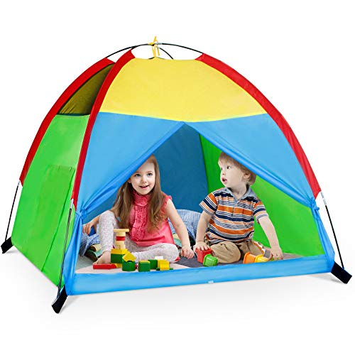 Kids Play Tent for Boys and Girls, Foldable Toddler Playhouse Toys for Baby Indoor/Outdoor Play...