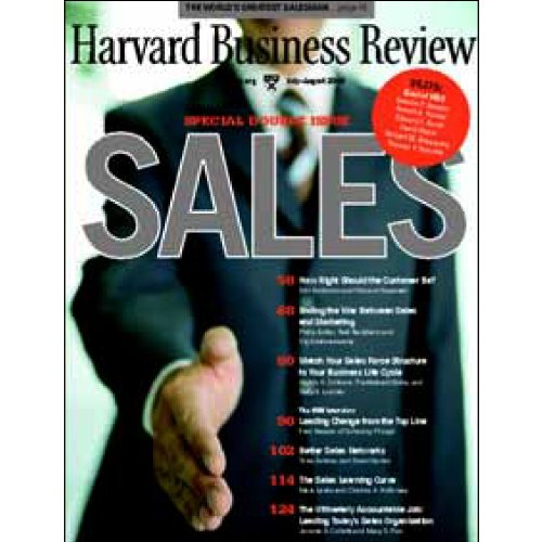 Sales     A Harvard Business Review Special              Written by:                                                                                                                                 Tuba Ustuner,                                                                                        Philip Kotler,                                                                                        Erin Anderson,                   and others                          Narrated by:                                                                                                                                 uncredited                      Length: 1 hr and 26 mins     Not rated yet     Overall 0.0