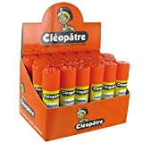 CLEOPATRE Lot de 24 Bâtons de Colle'Cléostick' en 8 gr