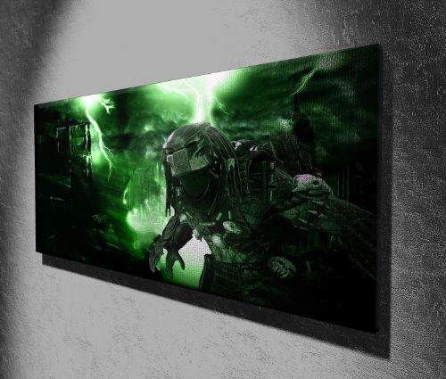 Movie Canvas Prints Bild auf Leinwand, Motiv Predator, 127 x 51cm, aufhängfertig