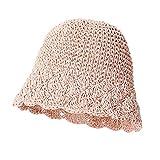 Geekcook Unisex Gorra de,Sombrero para el Sol para Mujer Sombrero de Playa de Verano de ala Ancha Grande Sombrero de Paja para Mujer Alto 2020 Sombrero de Viaje con protección Ultravioleta Ro