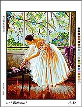 Needlepoint Kit Autumn Nymph 17.7x17.7 45x45cm Printed Canvas 654