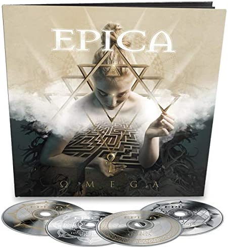 Omega Lim 48p Earbook incl Bonus acoustic CD orchestral CD instrumental CD product image