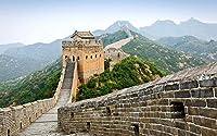 ChuYuszb puzzle クラシックパズル1000ピースDIY子供用大人用木製パズル中国万里の長城風景大人用レジャークリエイティブクロスワードゲーム子供用教育玩具