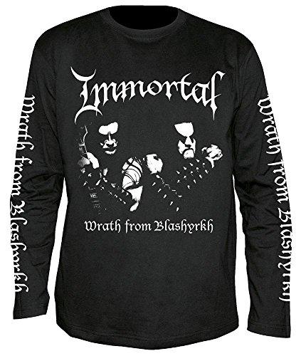 Immortal - Wrath of Blashyrkh - Langarm - Shirt/Longsleeve Größe XL