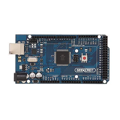 Módulo electrónico Mega 2560 Junta de Desarrollo Mega2560 ATmega2560-16AU R3 con el Cable USB for A-r-d-u-i-n-o - Productos Que Funcionan con Placas A-r-d-u-i-n-o Oficiales 3Pcs