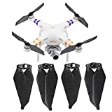O'woda 2 Pairs Foldable Carbon Fiber Propellers Noise Reduction Quick Release CW & CCW Props for DJI Phantom 3 Standard/Professional/Advance / 3SE