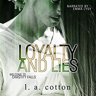 Loyalty and Lies audiobook cover art