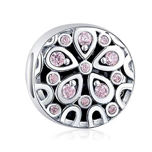 Pandora 925 plata esterlina DIY colgante joyería Qikaola infinito encantos ajuste pulsera perlas joyería para mujer c