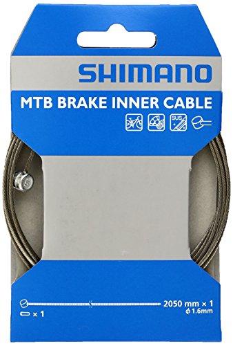 Shimano Unisex– Erwachsene Bremszug MTB, schwarz, Länge: 2.05 mm