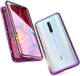 Case for OPPO Reno 2Z Magnetic Cover,Metal Bumper Front and