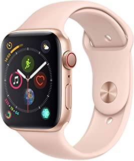 AppleWatch Series4 (GPS+Cellular, 44mm) - Gold Aluminum Case with Pink Sand Sport Band