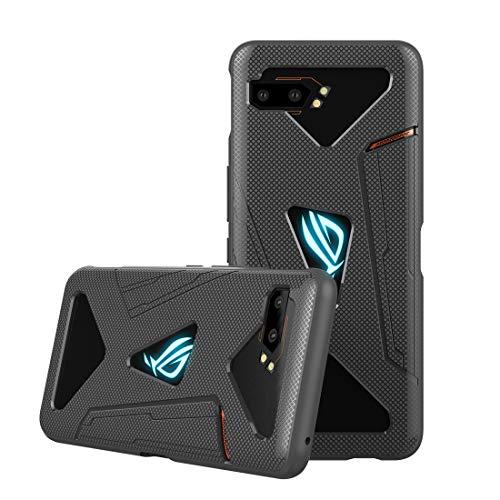 Capa para celular ASUS ROG da DDJ, capa ultrafina de TPU (poliuretano termoplástico) macia, flexível e leve, à prova de choque, resistente à sujeira para ASUS ROG Phone II ZS660KL (cinza)